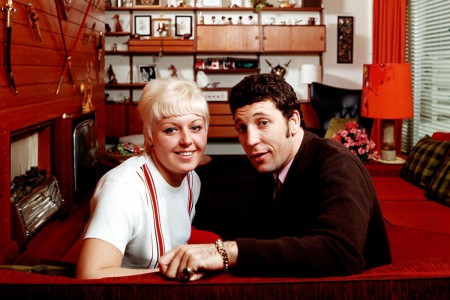 Tom Jones with his wife, Melinda Rose Trenchard