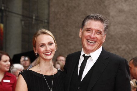 Megan married her spouse, Craig Ferguson in a private wedding ceremony
