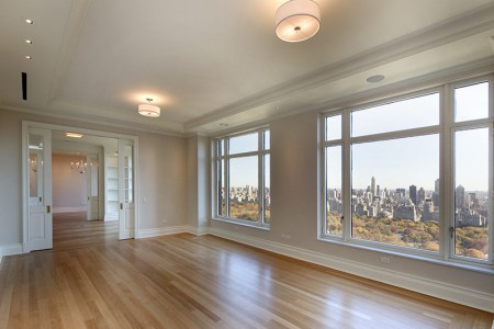 Robert De Niro's apartment located at 15 Central Park West in Manhattan, New York