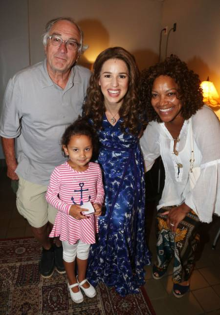 Robert De Niro with his daughter Drena and his estranged wife, Grace Hightower