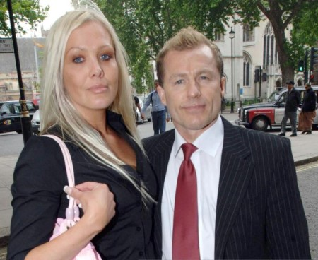 Chris Quinten and his ex-partner, Alison Slater
