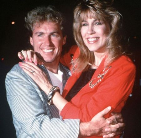 Chris Quinten with his first wife, Leeza Gibbons