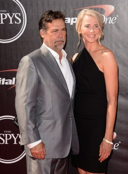 Jeff Fisher and Juli Fisher at an ESPYS event