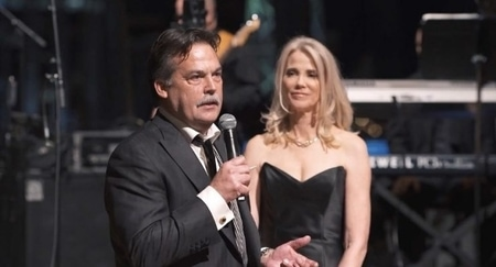 Jeff Fisher and Juli Fisher at an event