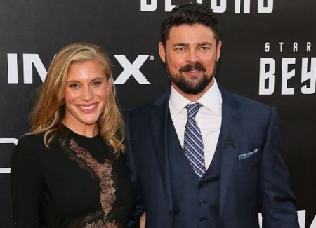 Katee and Karl Urban dated for four years from 2014-2018