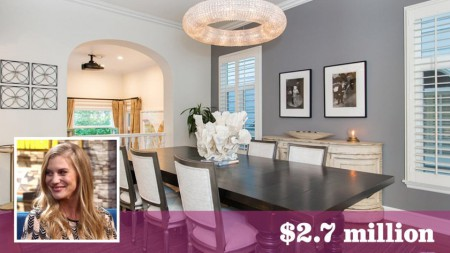 Sackhoff sold her house for $2.7 million in 2018
