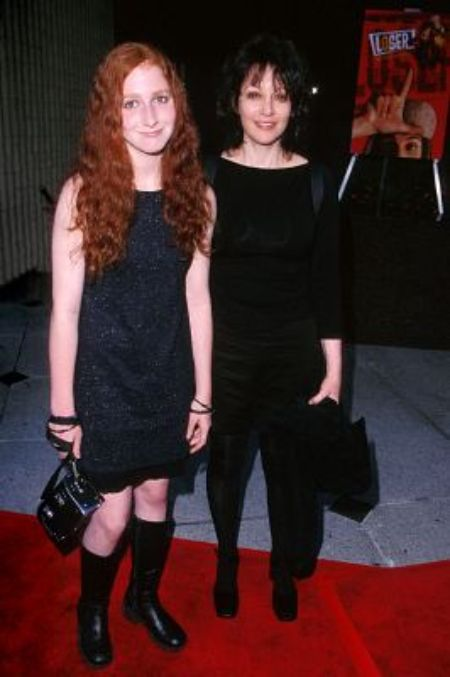 Amy Heckerling with her daughter, Mollie Israel