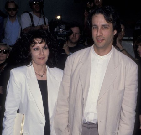 Amy Heckerling and Bronson Pinchot at Mann Chinese Theatre
