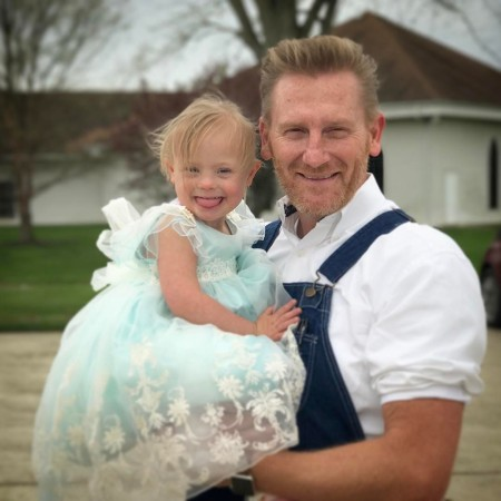 Tamara Gilmer's ex-husband, Rory Feek with his adorable daughter, Indiana Feek