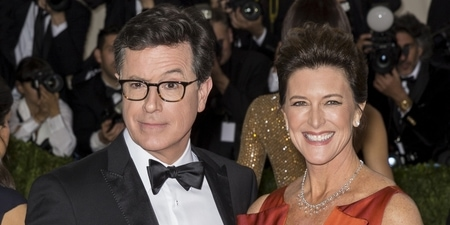 Stephen Colbert Wife and Children
