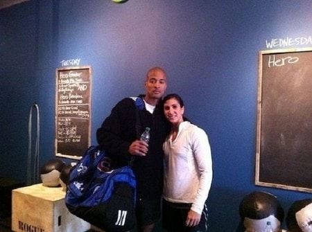 David Goggins and his partner Aleeza Goggins
