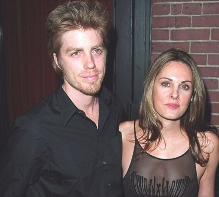 Kyle Eastwood with his wife, Laura Gomez