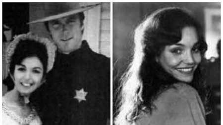 Roxanne Tunis with her lover, Clint Eastwood