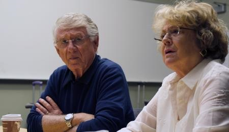 Grace and her husband Ted Koppel.