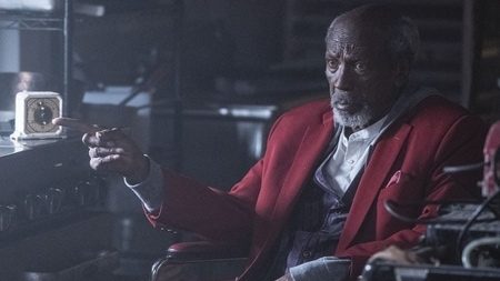 Louis Gossett Jr. in his new series Watchmen