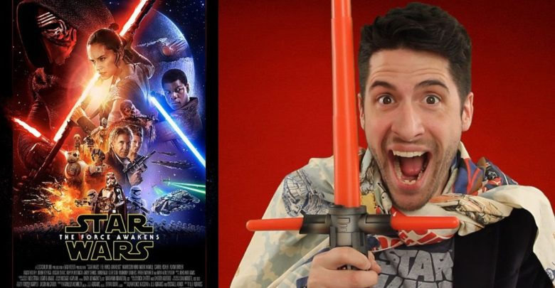 Jeremy while reviewing the movie  titled Star Wars: The Force Awakens