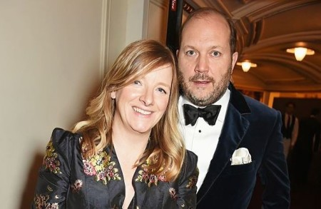 Sarah Burton and her husband, David Burton has been married for a long time