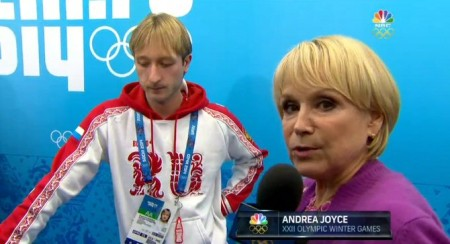 Andrea covering Olympic winter games for NBC