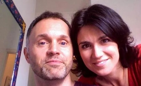 Susanna Reid with her long term partner Dominic Cotton