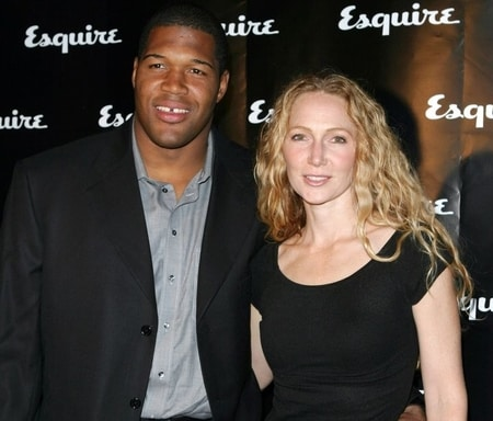 Michael Strahan with his second wife Jean Muggli