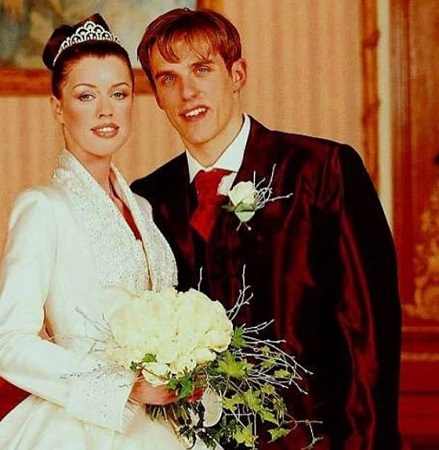 Julie and Phil Neville very romantic couple