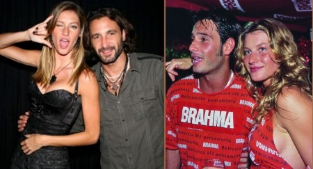 Gisele Bundchen and her ex-partner, Rico Mansur