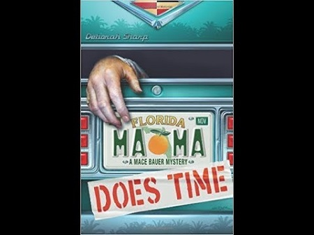 Sharp's first book named MAMA Does Time