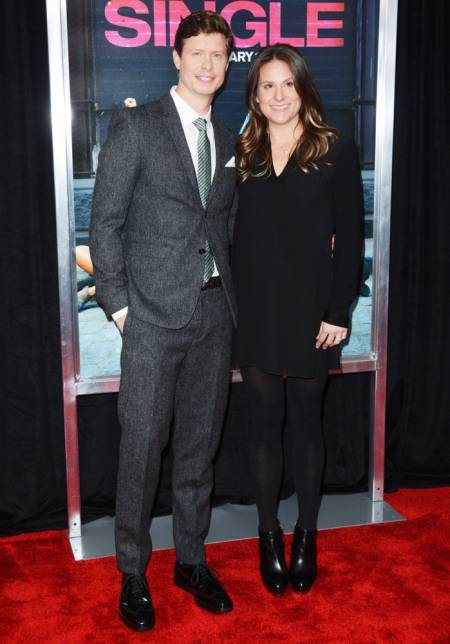Anders Holm with his wife Emma Nesper