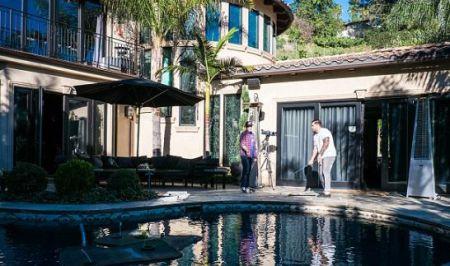Jordan McGraw's House in Los Angeles