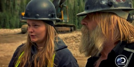 Monica Beets and Tony Beets in the show Gold Rush