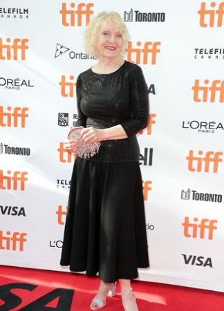 K Callan in 2019 Toronto International Film Festival.
