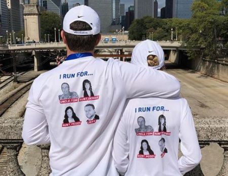 Baker and his wife, Reagan's marathon cause for their loved ones