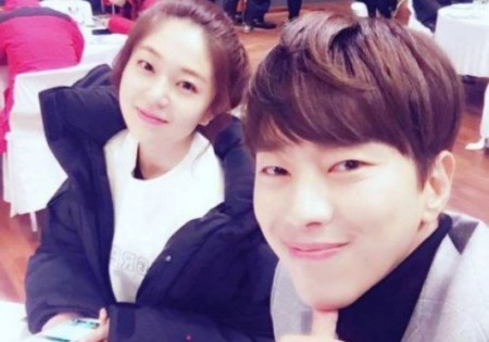 Jung So-min with her former lover Yoon Hyun Min