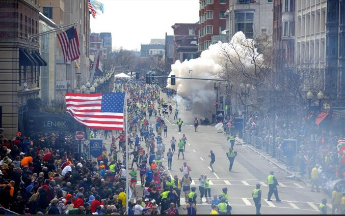 Two home-made pressure cooker bomb was exploded in 2013 Boston Marathon. MAny were victimised of the terrorist act.