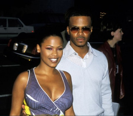Massai Z. Dorsey with his former partner, Nia Long