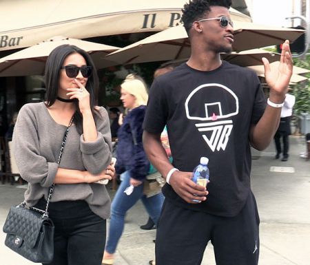 Jimmy Butler and Shay Mitchell goes for a lunch