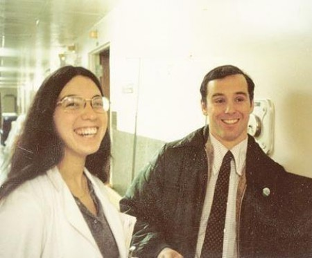 Photo of Howard Dean and Judith Steinberg