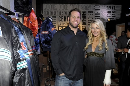 Jon Dorenbos with his former wife Julie Dorenbos