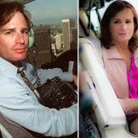 Zoey Tur before her gender transplant and after the surgery