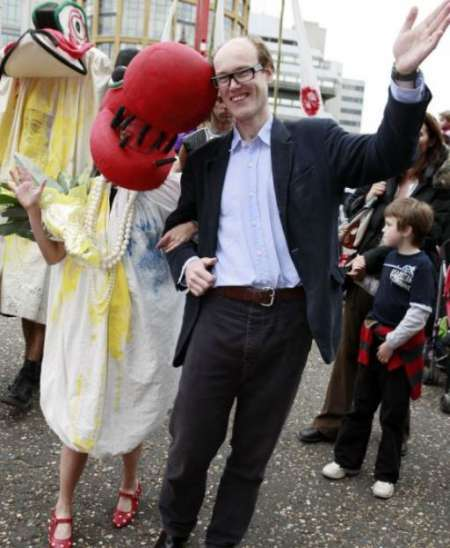 Kate Anderson's husband, Will Gompertz