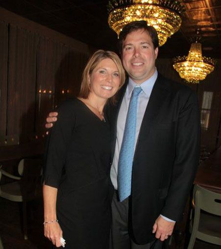Mark Wallace with his former wife Nicole Wallace