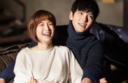 Park Min Young and Ji Chang Wook during the drama series Healer