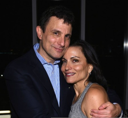 Esther Fein Remnick with her David Remnick during The New Yorker Festival 2014 wrap party