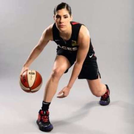 Kelsey Plum is promoting the Nike's footwear brand
