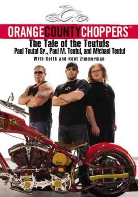 The frame of Orange County Choppers: The Tale of the Teutuls