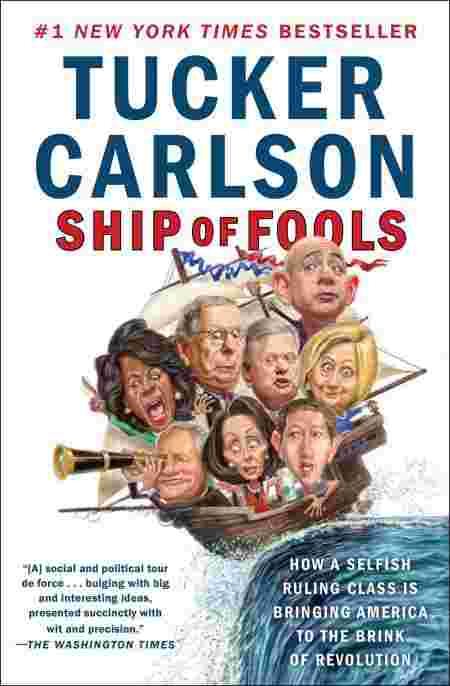The cover of Ship of Fools: How a Selfish Ruling Class Is Bringing America to the Brink of Revolution