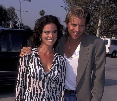 Vincent and his ex-wife, Betsy Russell, the actress of Saw film series