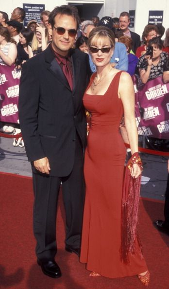 Eileen Davidson with her second husband, Jon Lindstrom
