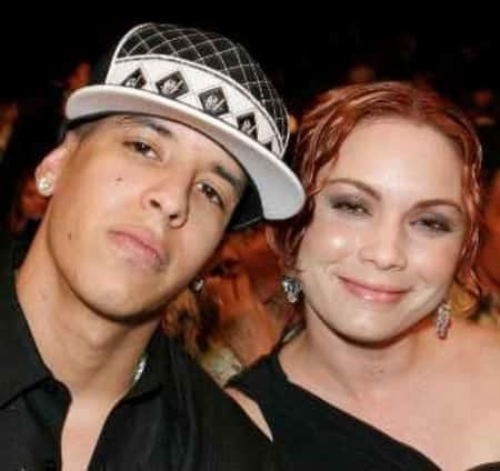 Yamilet's father Daddy Yankee with his wife Mireddys Yankee