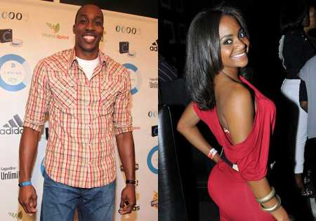 Picture of Braylon Howard's parents Dwight Howard and Royce Reed